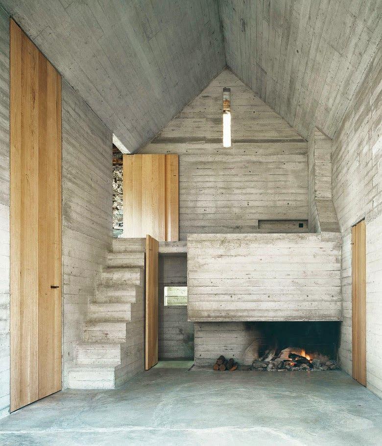 Архитектура в цветах: серый, светло-серый, белый, бежевый. Архитектура в стилях: минимализм, лофт, неоготика.