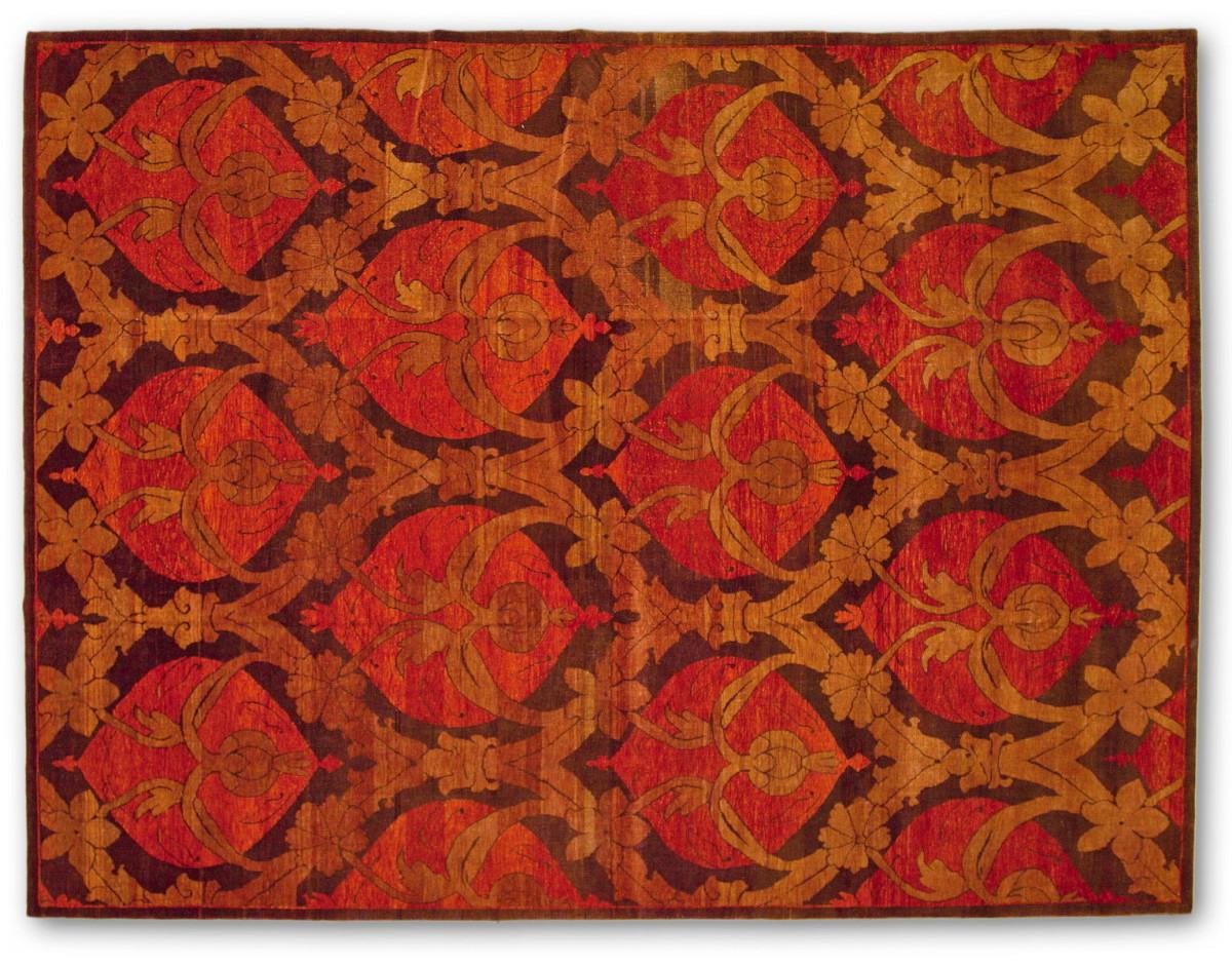 Декор в цветах: бордовый, коричневый. Декор в .