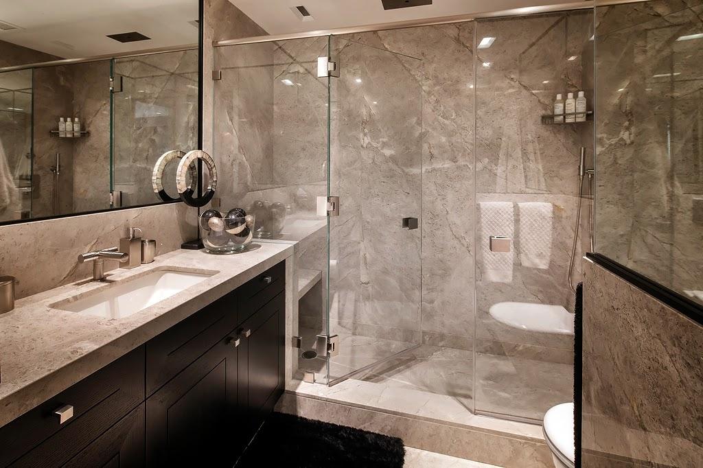 Туалет в цветах: черный, серый, коричневый, бежевый. Туалет в стилях: этника, эклектика.