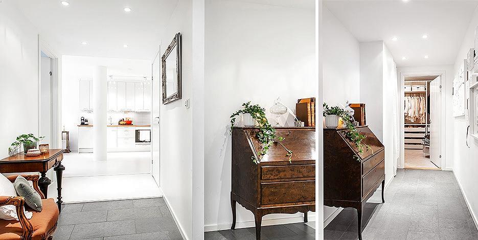 Мебель и предметы интерьера в цветах: черный, серый, белый, коричневый. Мебель и предметы интерьера в стиле эклектика.