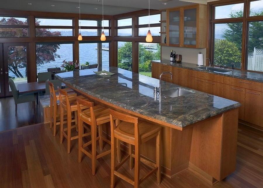 Кухня в цветах: черный, серый, светло-серый, темно-коричневый, коричневый. Кухня в .