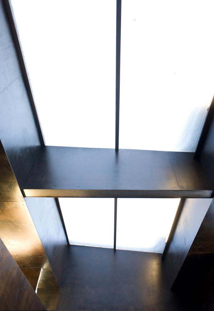 Архитектура в цветах: голубой, серый, белый. Архитектура в стилях: минимализм, экологический стиль.
