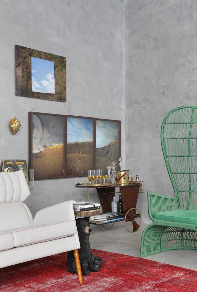 Гостиная, холл в цветах: серый, светло-серый, белый, бордовый, сине-зеленый. Гостиная, холл в стилях: модерн и ар-нуво, арт-деко, лофт, эклектика.