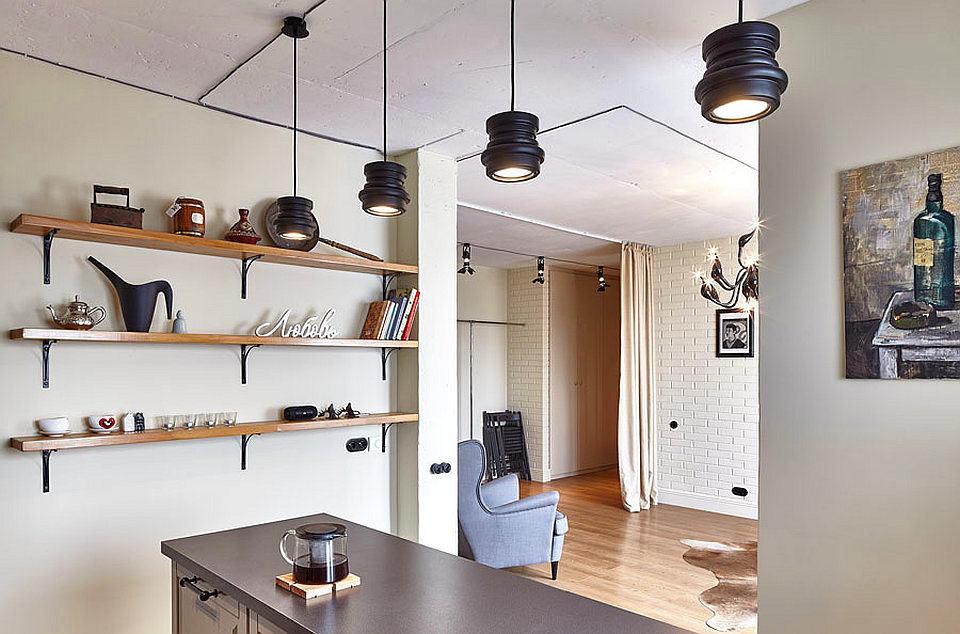 Гостиная, холл в цветах: серый, белый, коричневый, бежевый. Гостиная, холл в стилях: скандинавский стиль.
