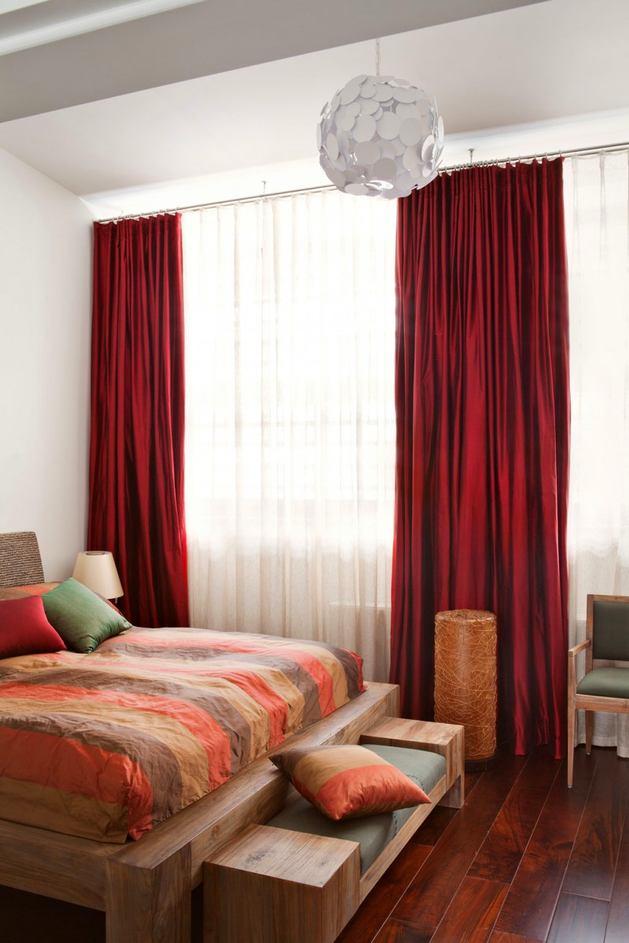 Мебель и предметы интерьера в цветах: белый, бордовый, темно-коричневый, коричневый, бежевый. Мебель и предметы интерьера в стилях: экологический стиль.
