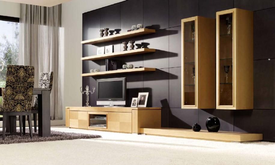 Гостиная, холл в цветах: черный, серый, белый, коричневый, бежевый. Гостиная, холл в стиле минимализм.
