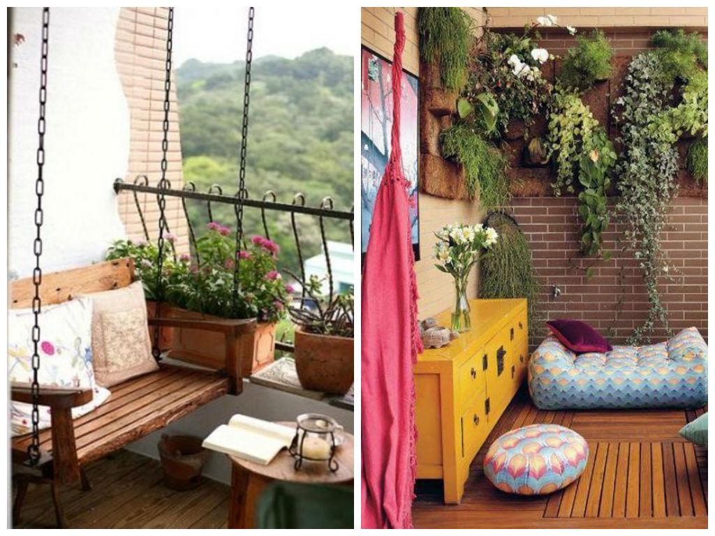 Как обустроить зеленый уголок на балконе: советы и примеры /.